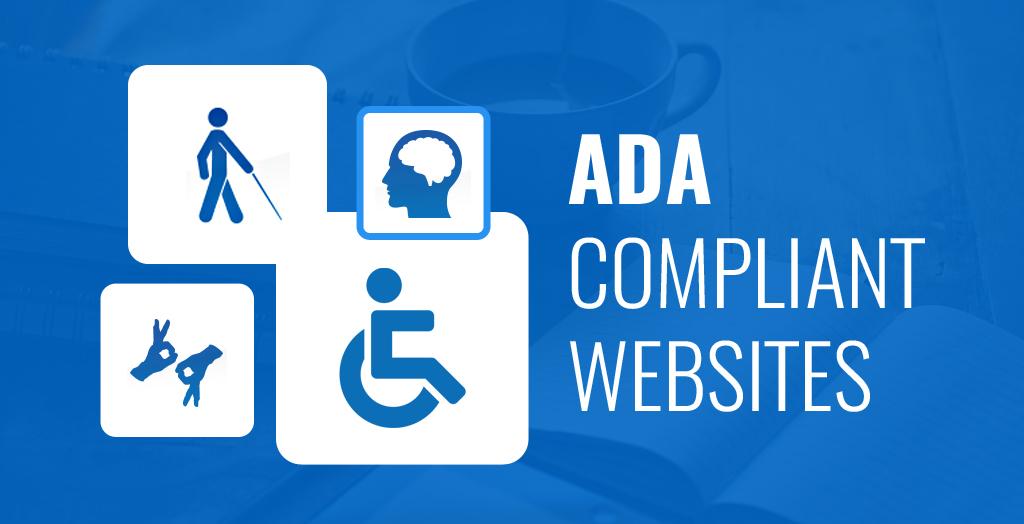 ADA compliant website blog image