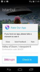 Rate Our App