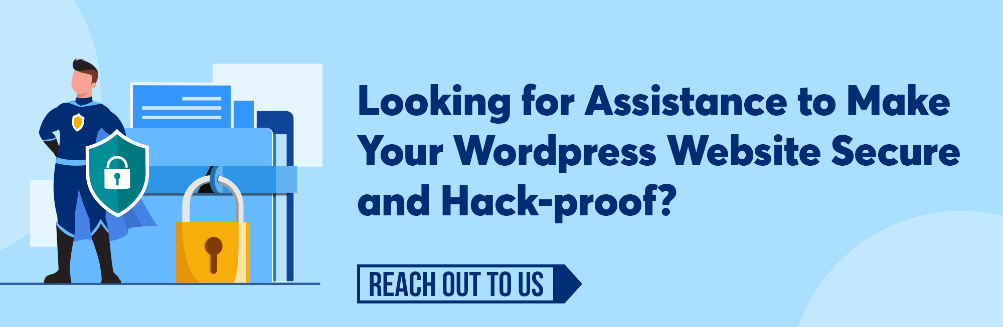 WordPress Security How To Secure And Protect Your Website CTA