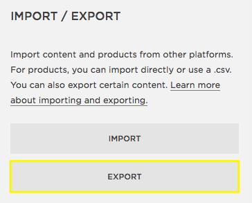 Step-3 Click Export