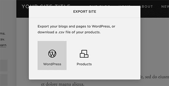 Step-4 Click the WordPress icon